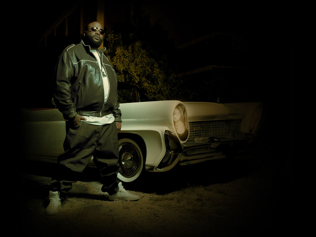 Rick Ross with Lowrider Rap Wallpapers 1024x768