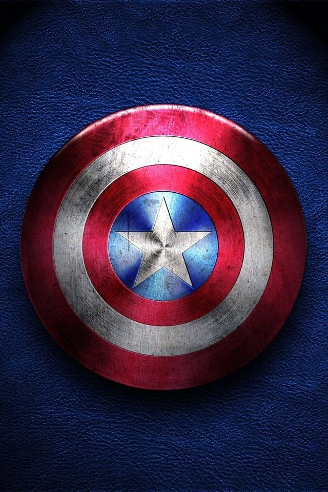 Captain America Shield Wallpaper Cool Wallpapers Pinterest 640x960