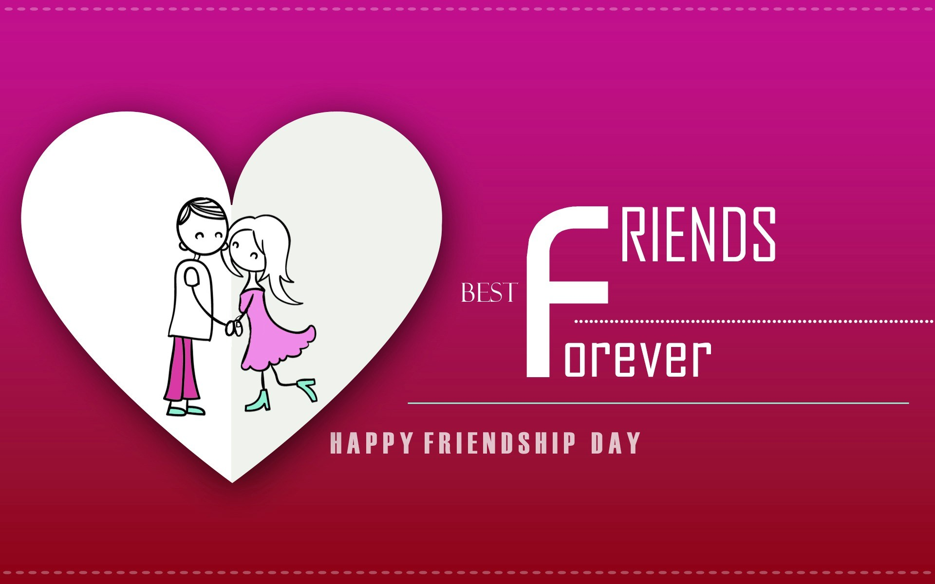 Happy Friendship Day Wallpapers Quotes Messages 1920x1200
