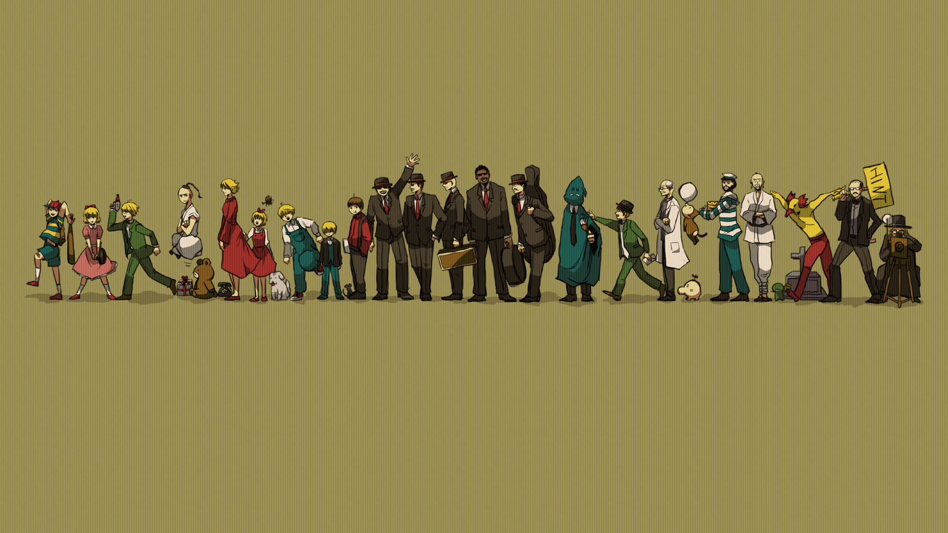 earthbound hd wallpaper color palette tags earthbound category general 1920x1080