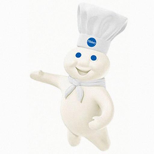 Pillsbury Dough Boy With Gun Dough boy mister pillsbury 512x512