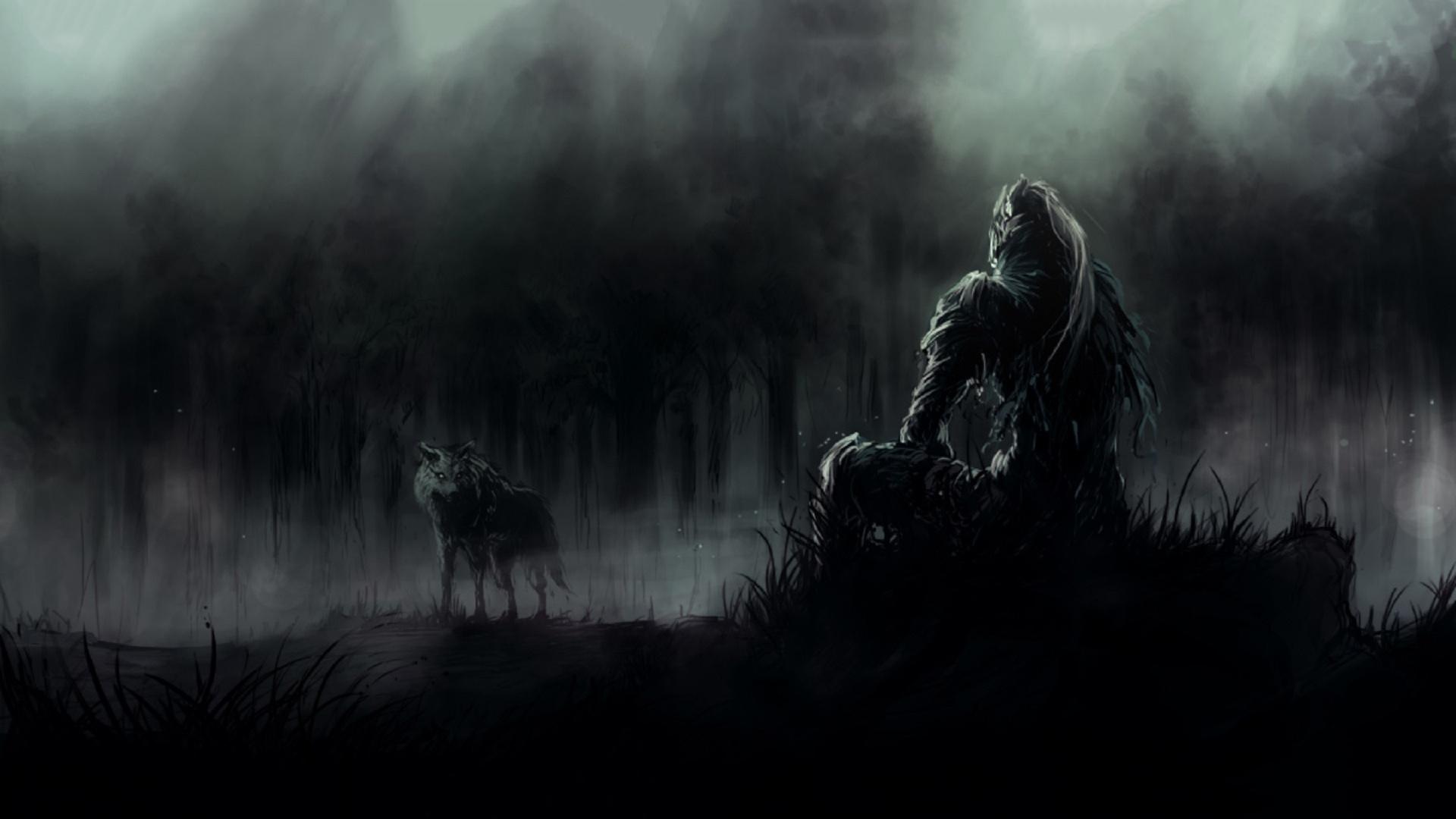 Dark Souls 3 Wolf HD Wallpaper 1920x1080