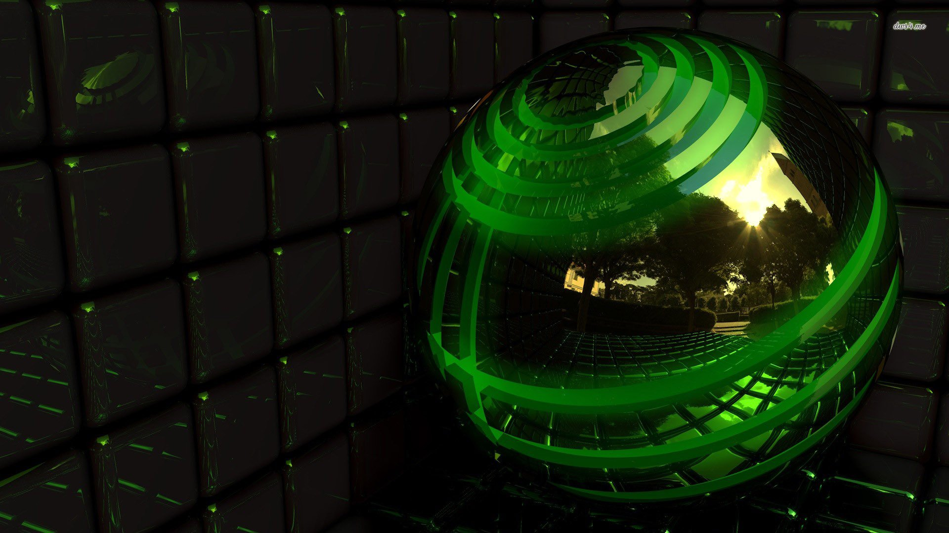 green 3d wallpaper wallpapersafari