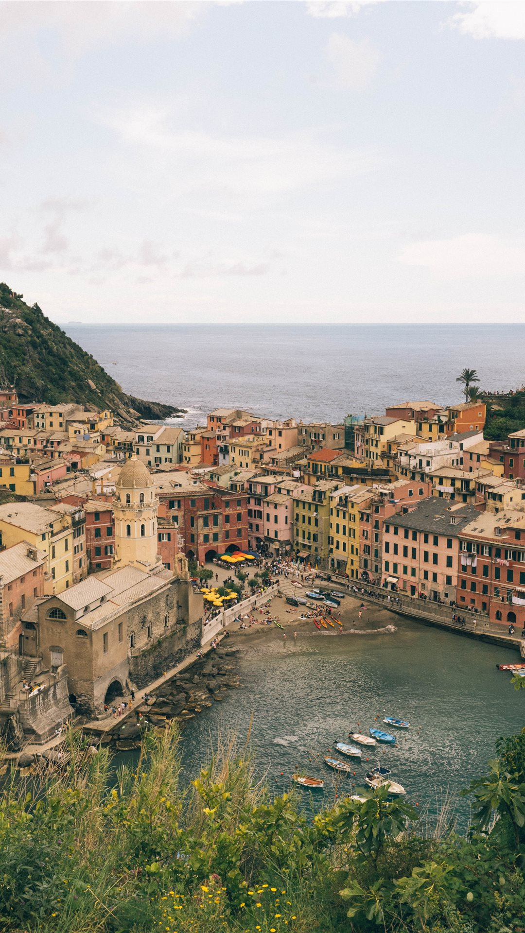 Vernazza Cinque Terre Italy May 2019 iPhone Wallpapers Download 1080x1920