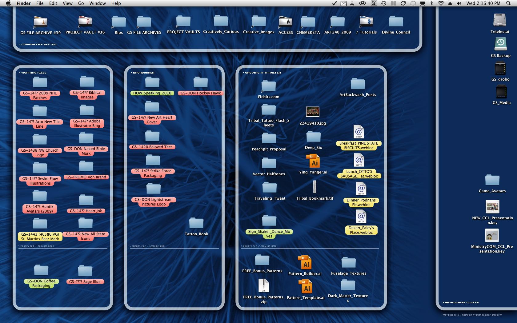 Desktop Organizer Wallpaper   Great World HTML code