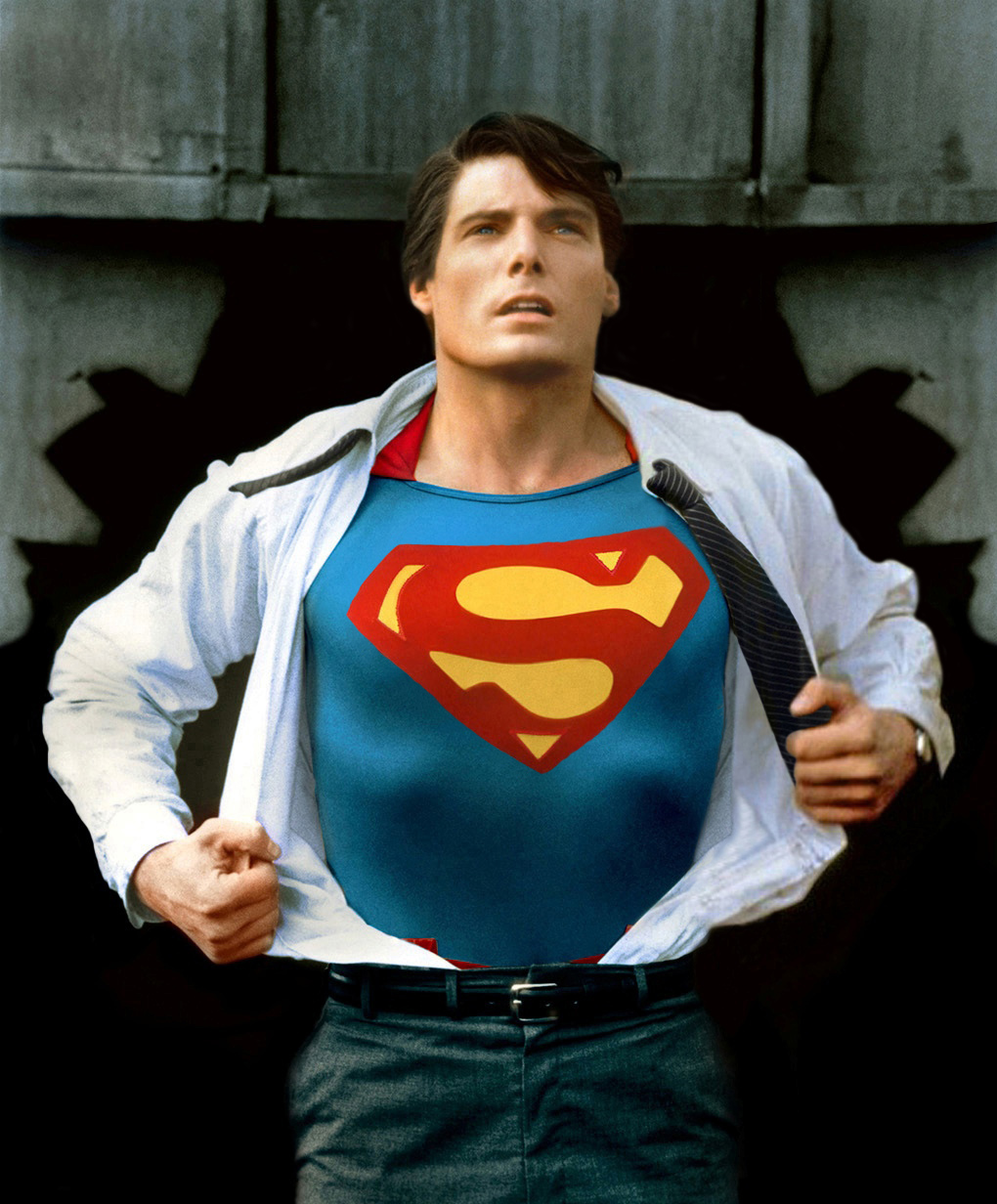 Superman The Movie Christopher Reeve   Superman A classic photo 1020x1232