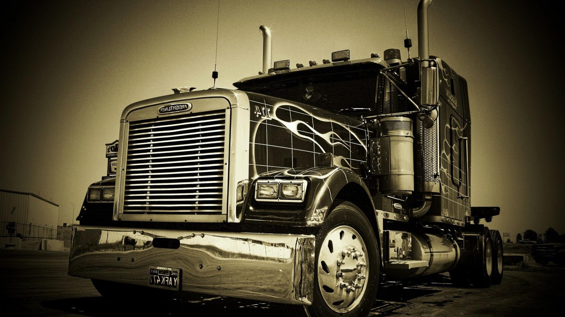 18 wheeler semi trucks wallpaper 111058 1920x1080
