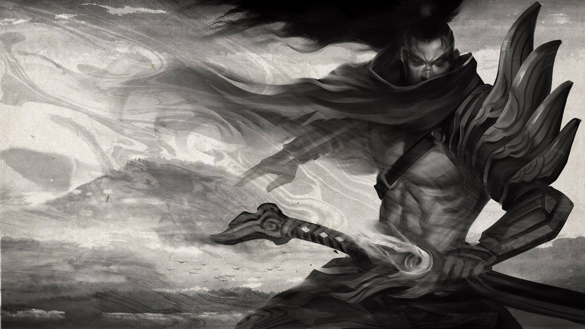 yasuo league of legends game hd wallpaper 1920x1080 1080p full 1920x1080