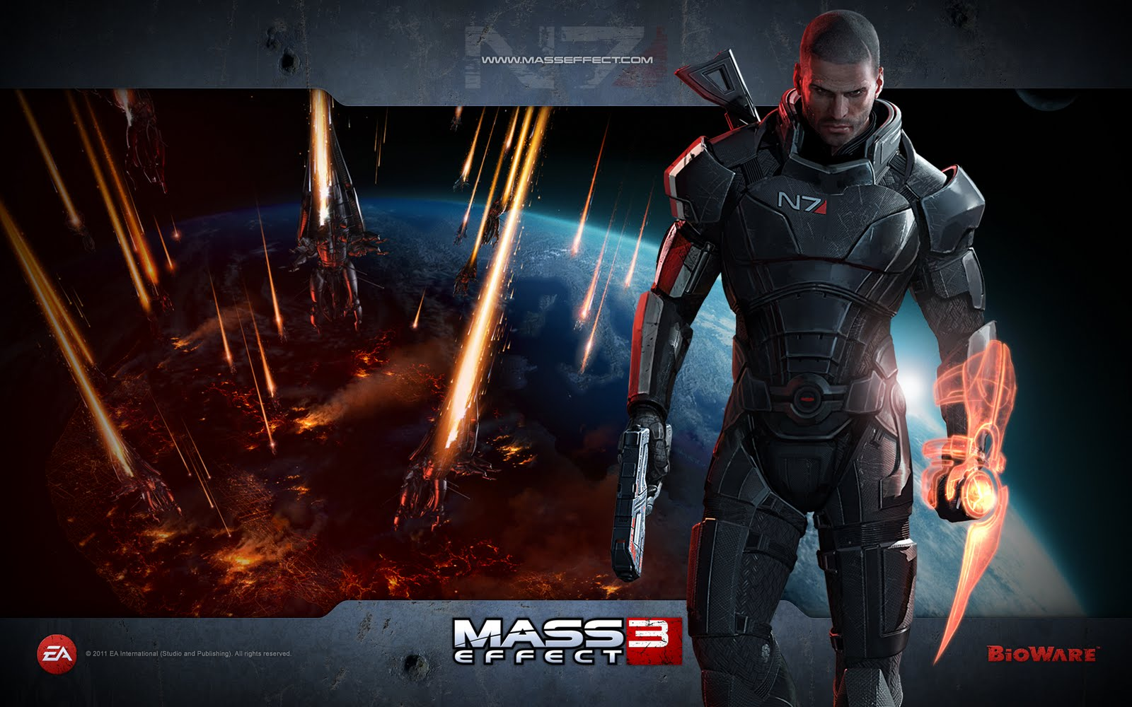 Awesome HD Wallpapers HD Wallpapers Awesome Mass Effect 3 Game 1600x1000
