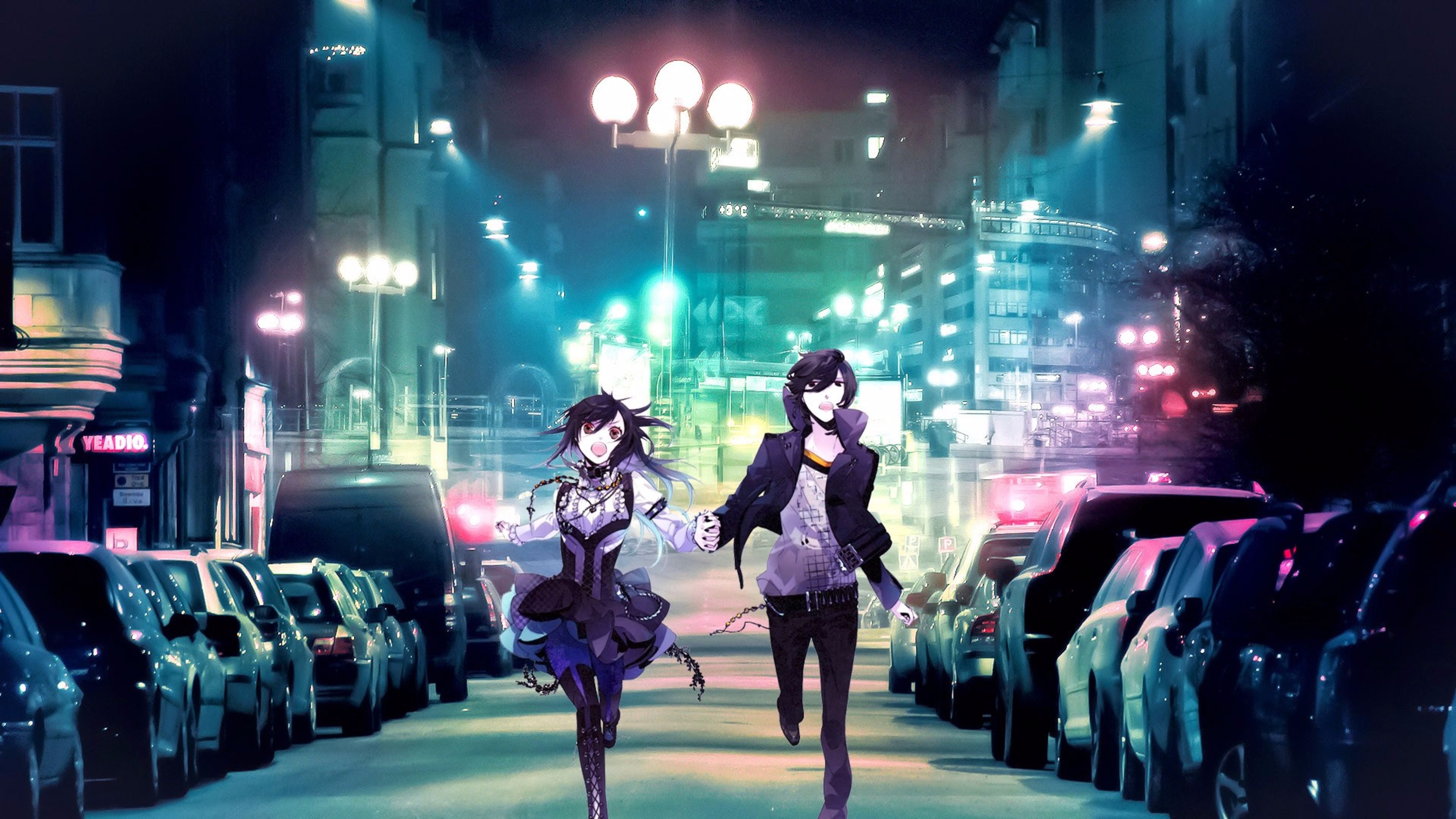 Running the Streets 2016 4K Anime Wallpaper 4K Wallpaper 3840x2160
