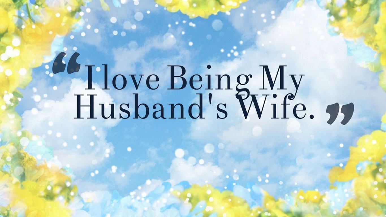 I Love My Husband Wallpaper wwwgalleryhipcom   The 1365x768