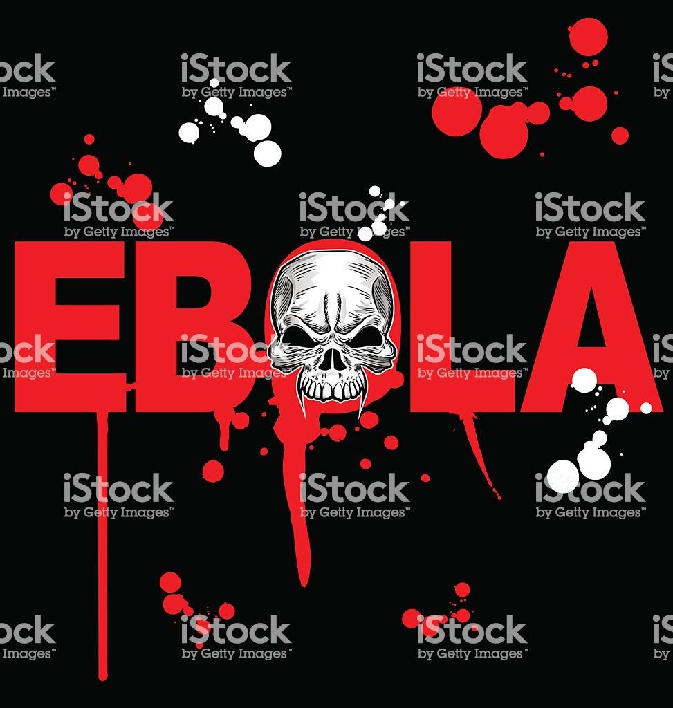 Ebola Virus Design On Black Background Stock Vector Art More 973x1024