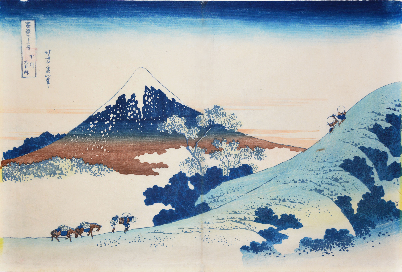 Japan Mount Fuji Hokusai wallpaper 4394x2971