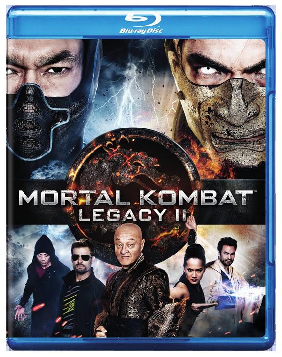 Mortal Kombat Legacy II Blu ray DVD Warner cityonfirecom 576x728