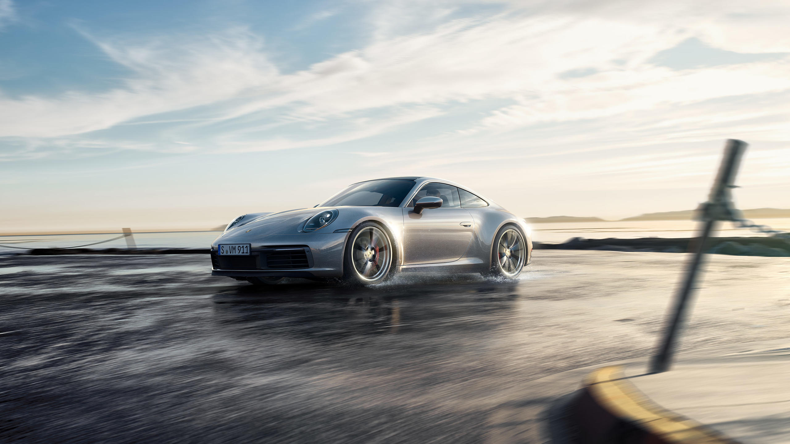 2020 Porsche 911 Carrera S on the South Shore of Montreal 2560x1440