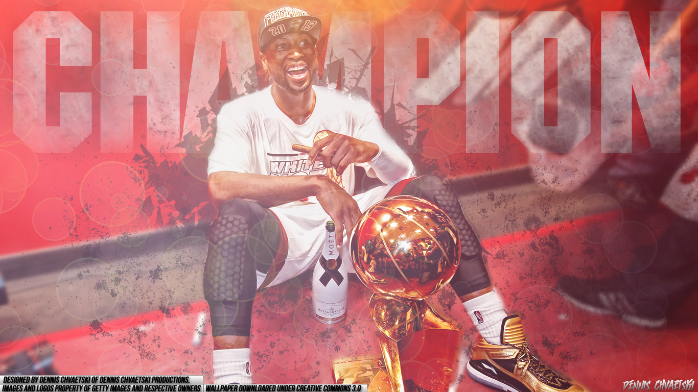 Dwyane Wade Wallpaper by DennisChvProductions 1366x768