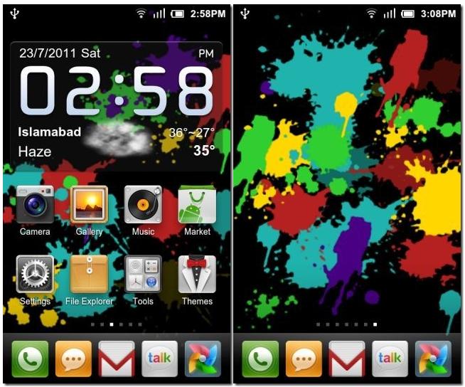 Google Nexus 4 live wallpapers 654x544