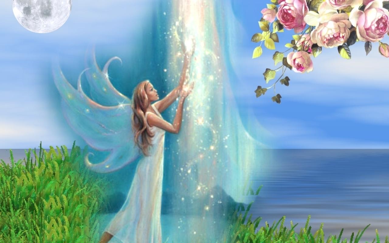 Fairies   Magical Creatures Wallpaper 7833956 1280x800