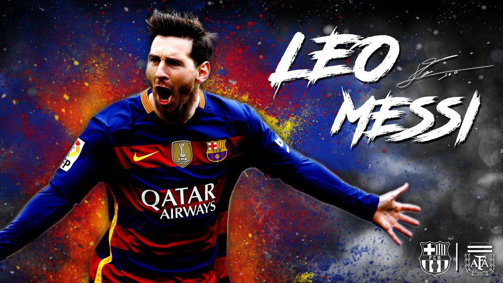 Lionel Messi Wallpaper   2016 by MitchellCook 1024x576