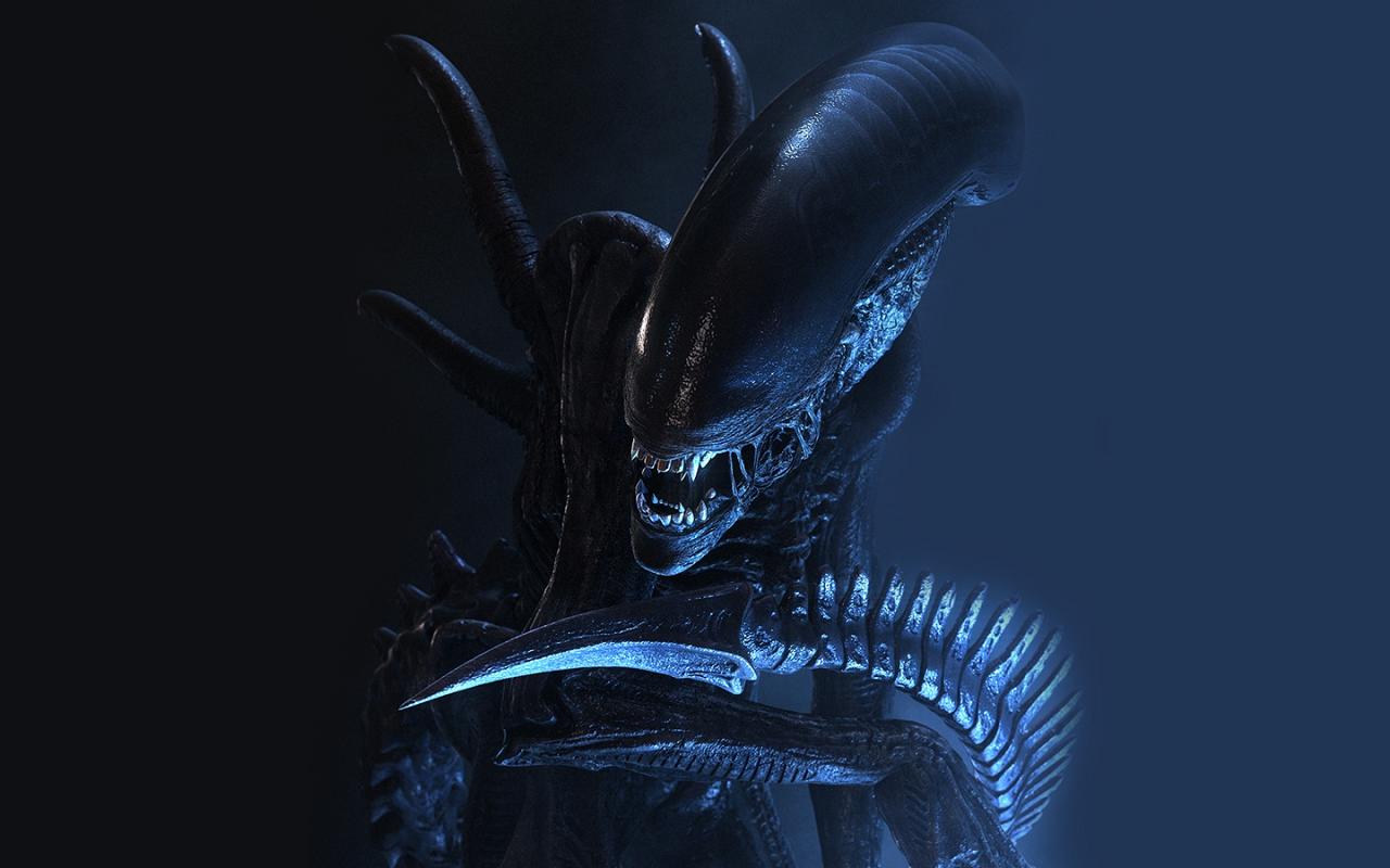 Aliens Xenomorph Wallpaper 1280x800 Aliens Xenomorph 1280x800