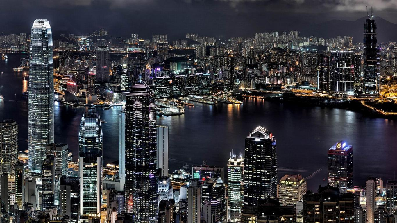 City HD Wallpaper Images For Desktop Download 1366x768