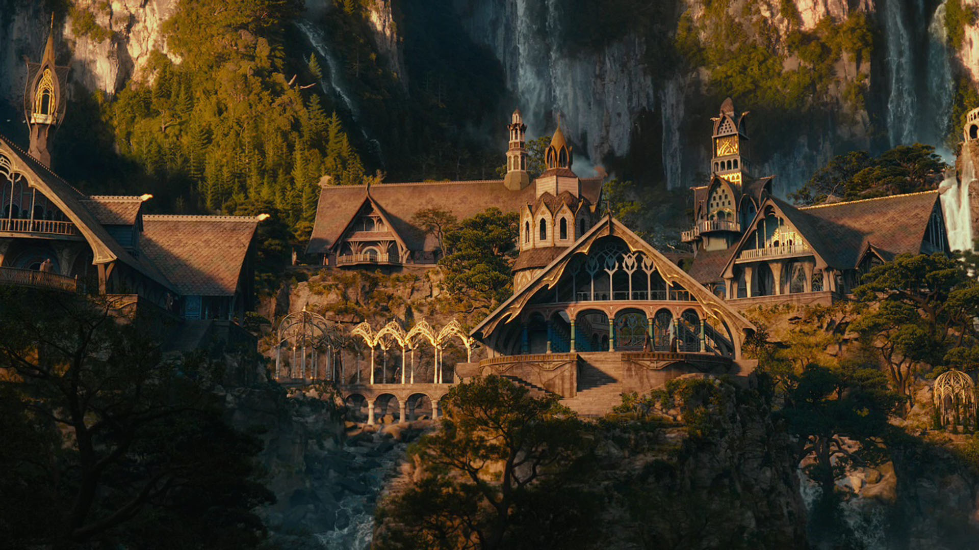 The Hobbit An Unexpected Journey images rivendell HD wallpaper 1920x1080