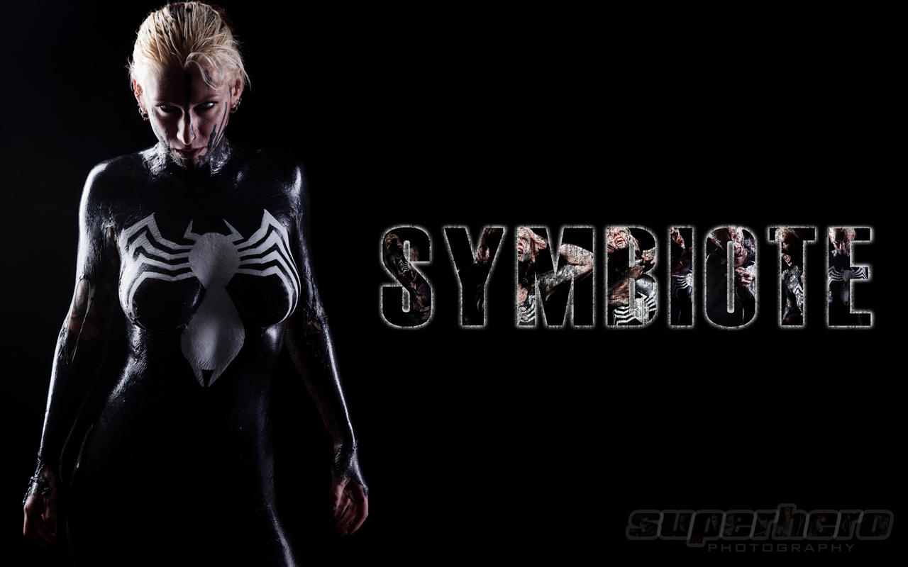 FREE SYMBIOTE Desktop Wallpaper 1280x800 SuperHero Photography by 1280x800