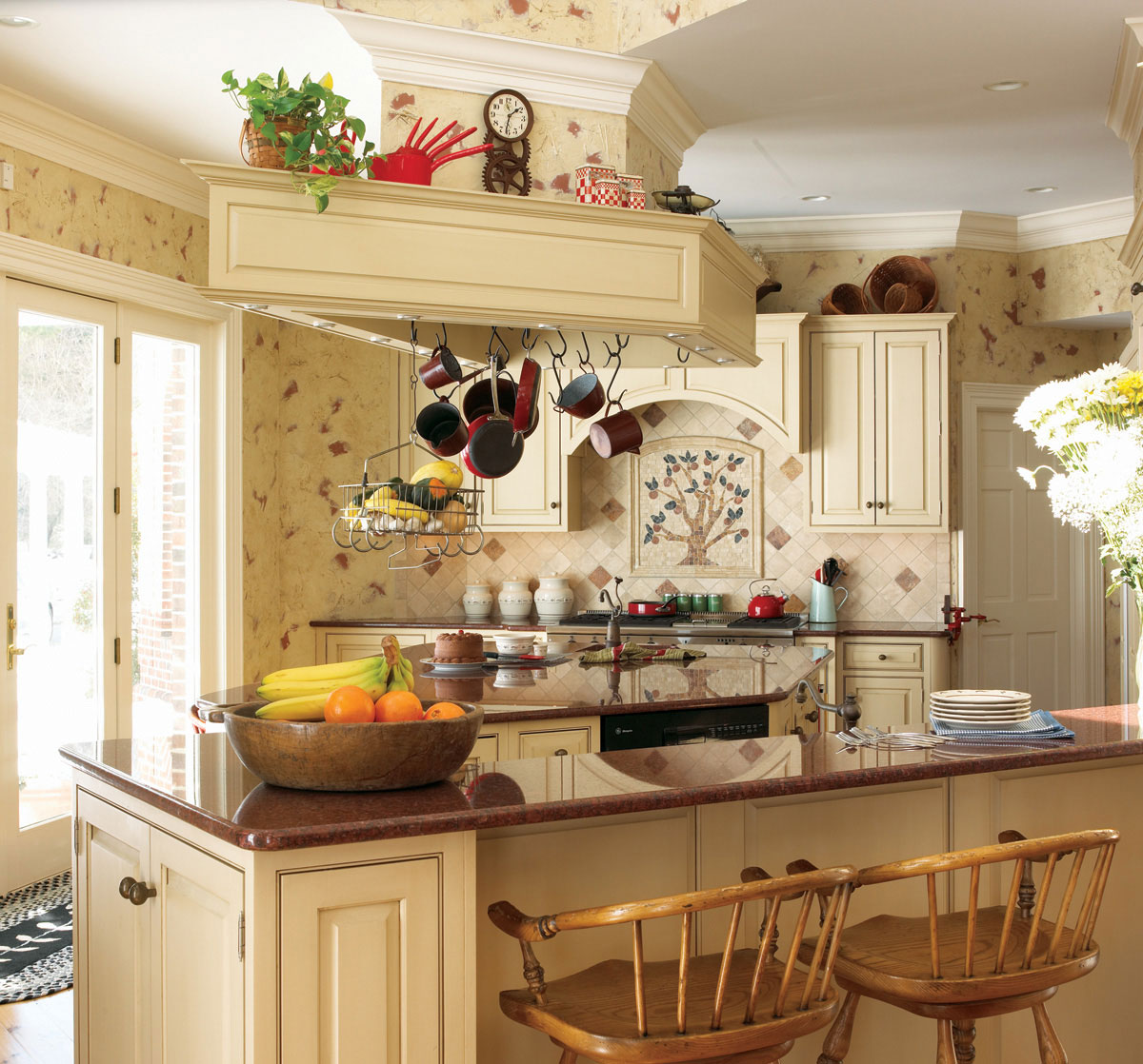 Free download french country kitchen decorating wallpaper ...