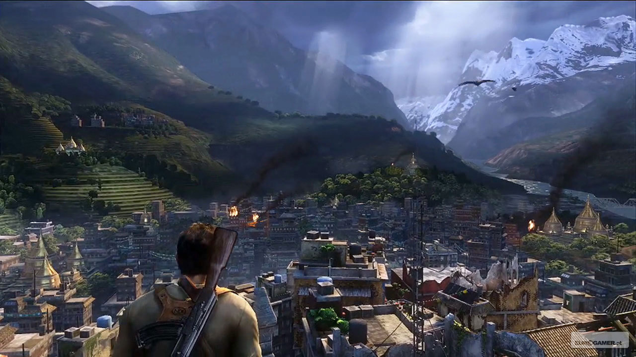 Uncharted 2 Among Thieves video game wallpapers Wallpaper 18 of 1280x720