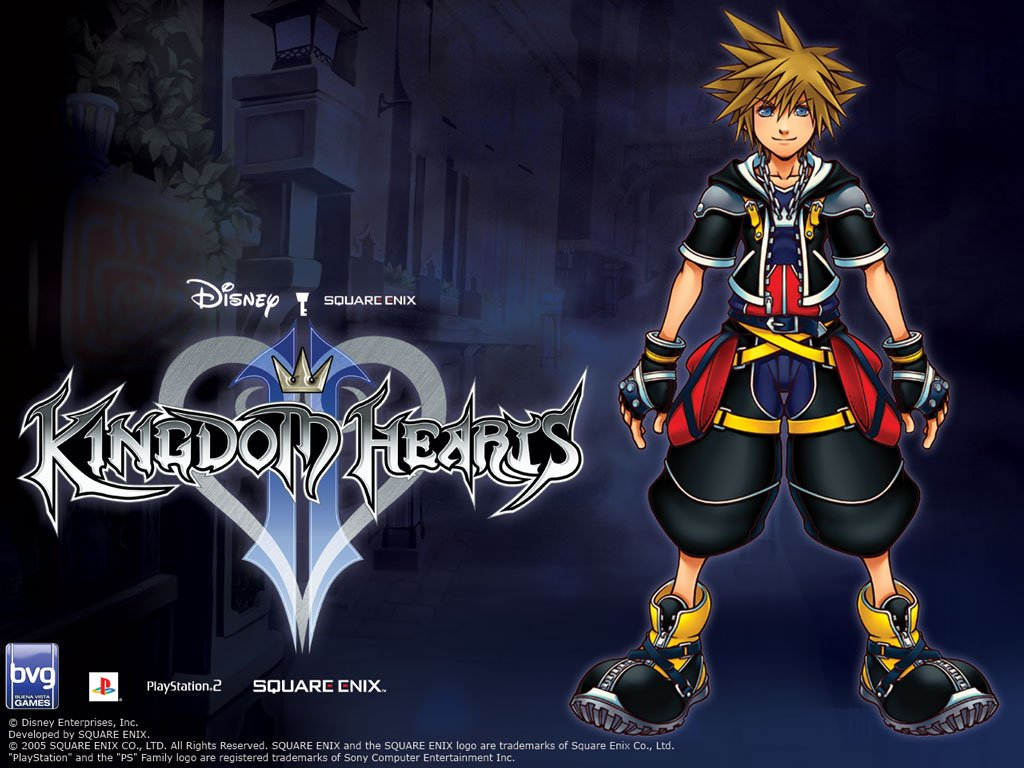Kingdom Hearts II 1024x768