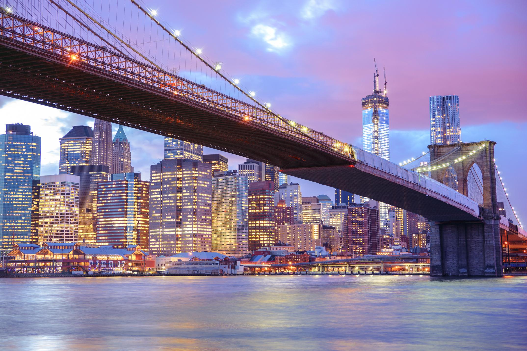 new york city skyline city lights new york wallpapers city 1680x1050
