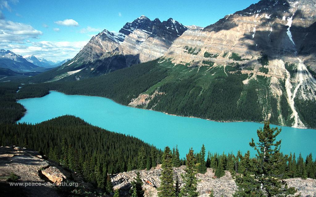 1610 Landscape Wallpaper 56   Peyto Lake Canada Flickr   Photo 1024x640