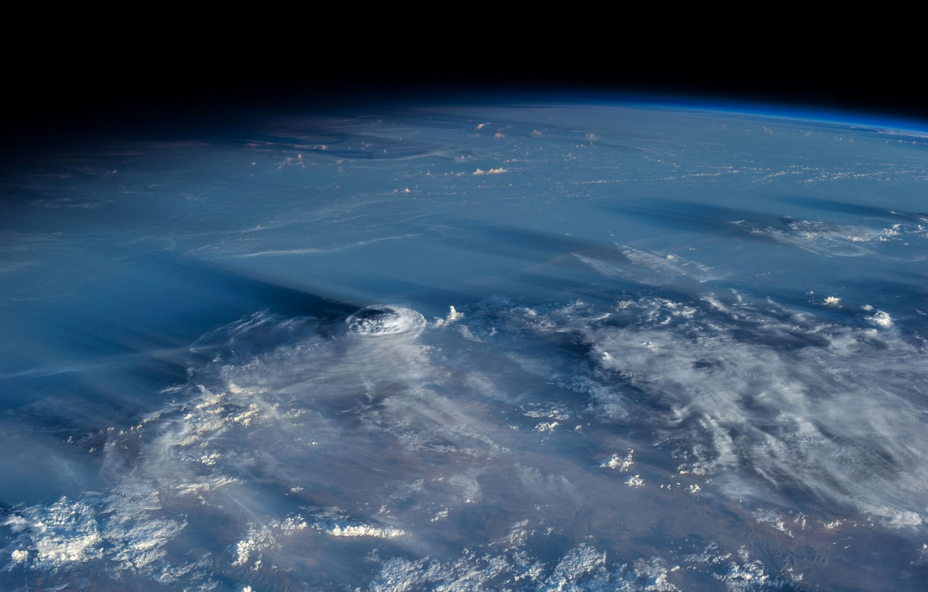 Wallpaper clouds planet the atmosphere Earth cyclone images 1332x850