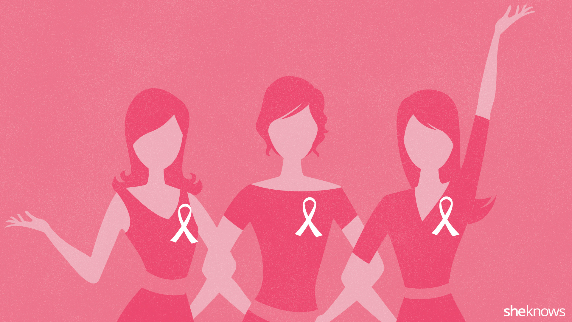 breast cancer awareness backgrounds - wallpapersafari, Powerpoint templates