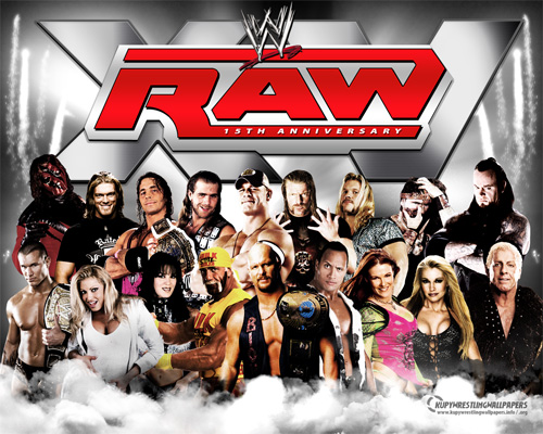 WWE RAW Wallpapers 2011 Wrestling Stars 500x400