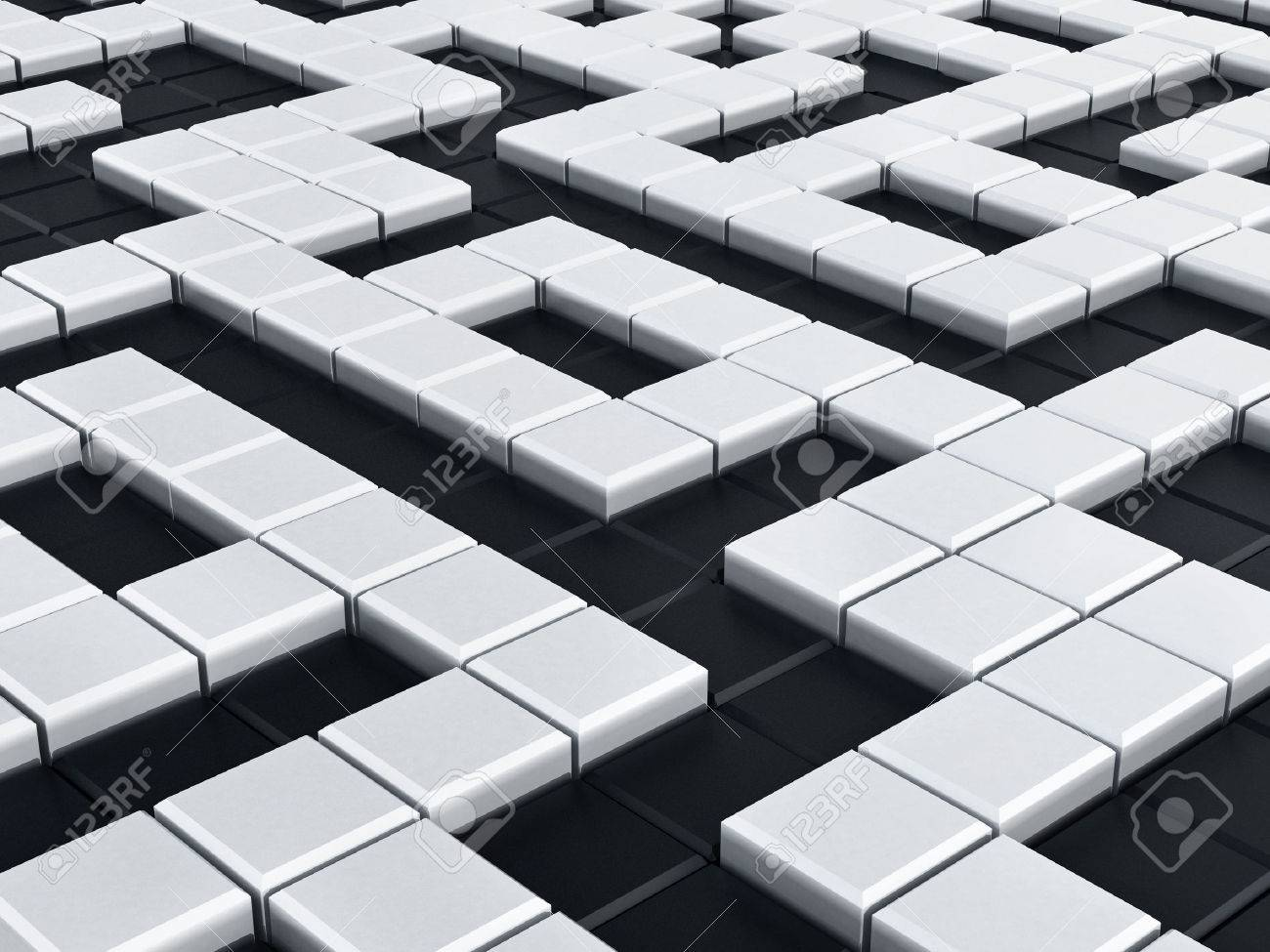 Black And White Crossword Puzzle Background Stock Photo Picture 1300x975
