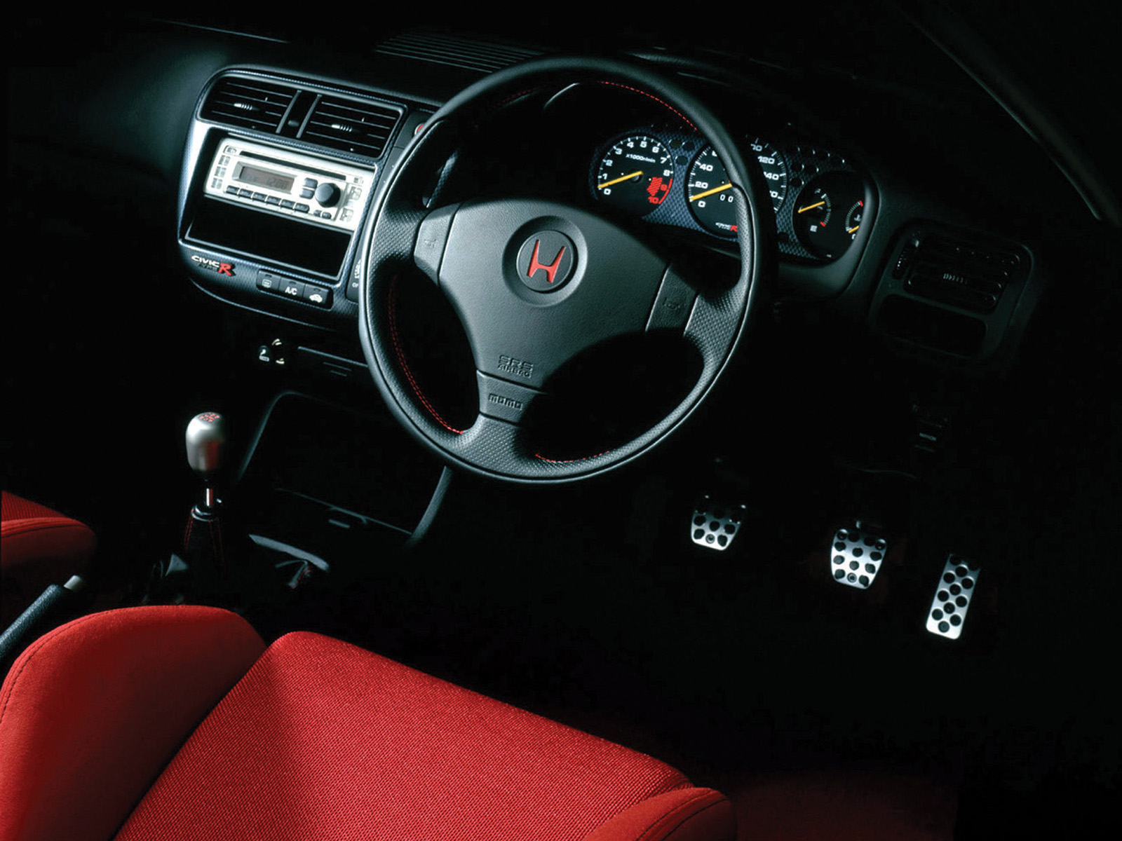 Front panel Honda Civic Type R X [JP spec] EK9 121999082000 1600x1200