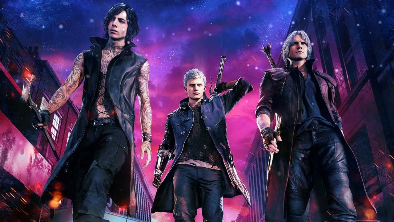 Free Download Wallpaper Engine Devil May Cry 5 Theme Front View