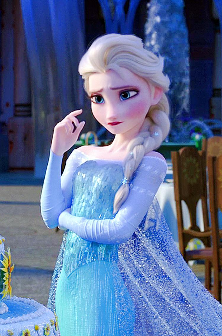 Frozen Fever Elsa Phone Wallpaper   Frozen Fever Photo 38787404 750x1134