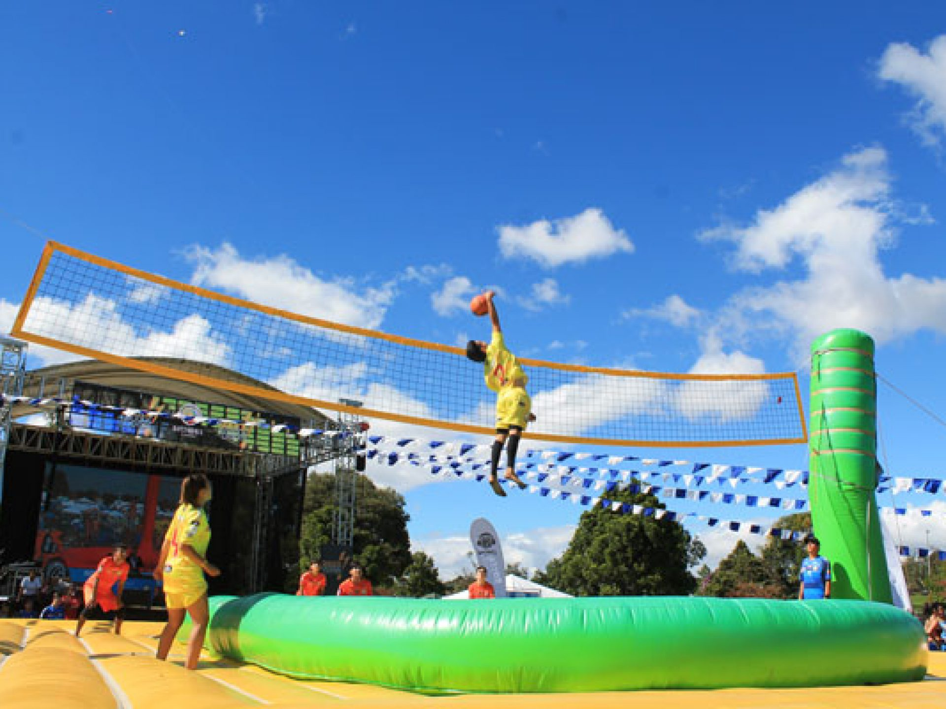 Bogotas summer festival highlighted by Bossaball Colombia 1920x1440