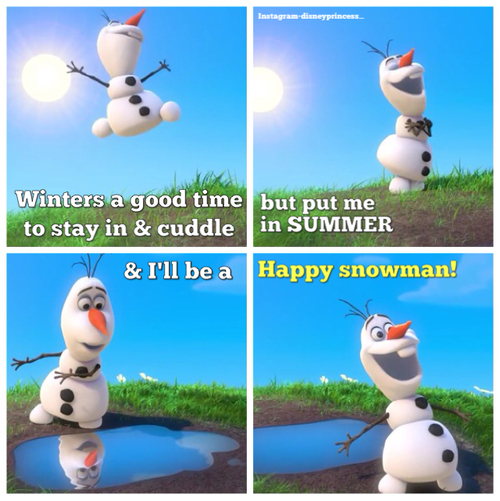 Olaf Frozen Quotes Summer Olaf summer quotes olaf frozen 500x501