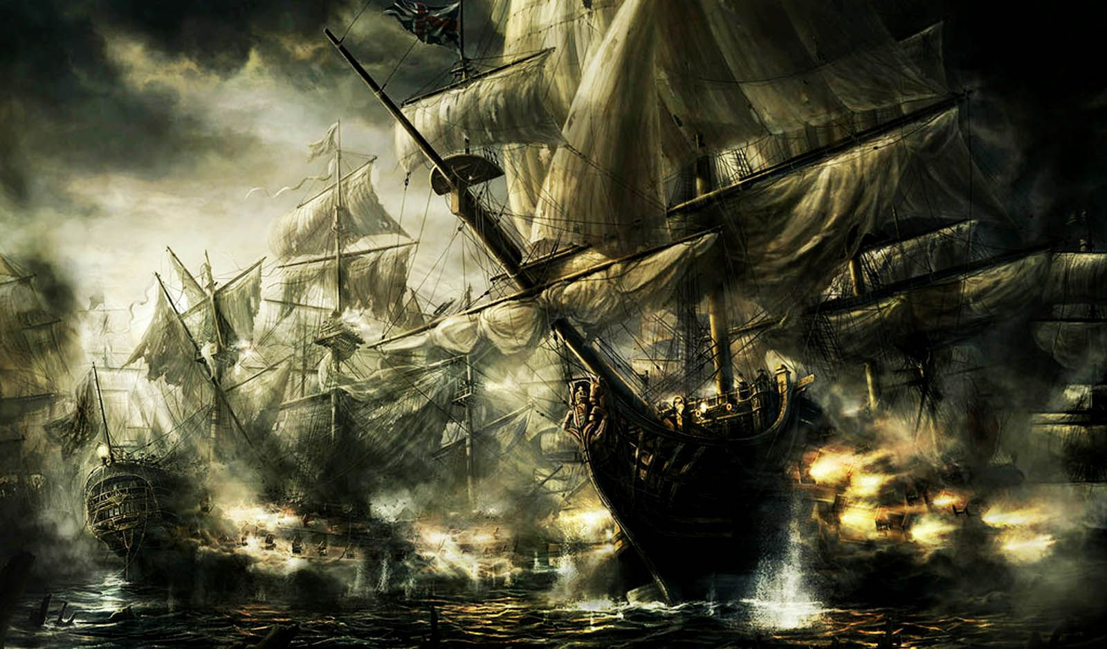 Old Pirate Ships Pirate Ships Awesome HD Wallpapers Desktop 1600x938