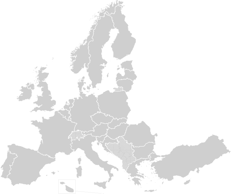 map of Europe 763x643