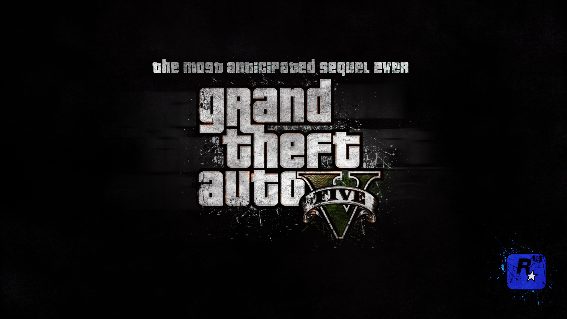 GTA 5 Grunge wallpaper 1920x1080 by Vatox 1920x1080