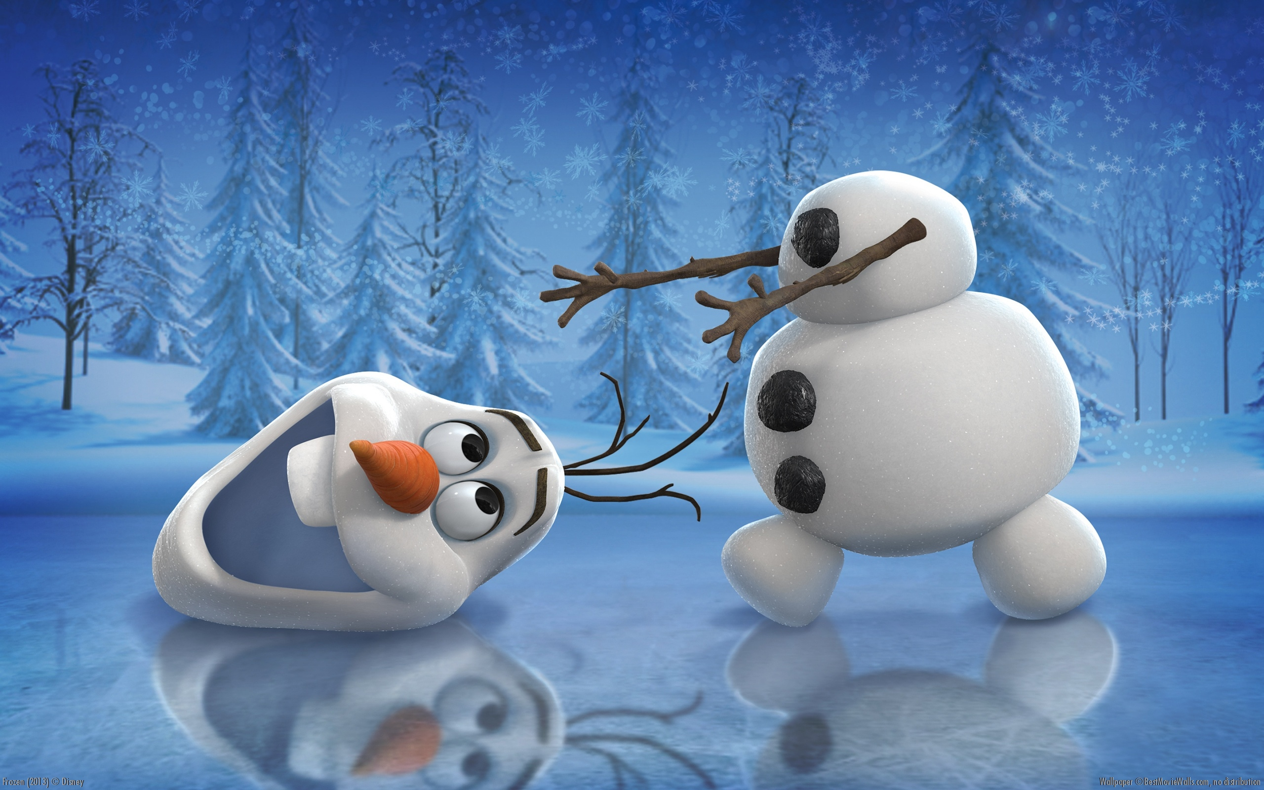 Olaf Wallpaper   Frozen Wallpaper 36065993 2560x1600