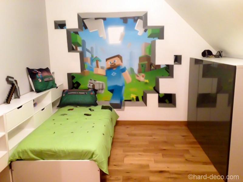 Thme Minecraft ou Mario pour la chambre du fiston Alors quoi de 800x600