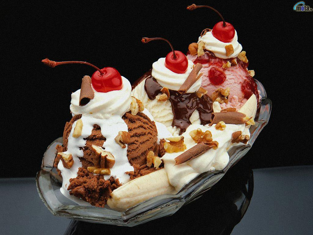 banana split Wallpaper   ForWallpapercom 1024x768