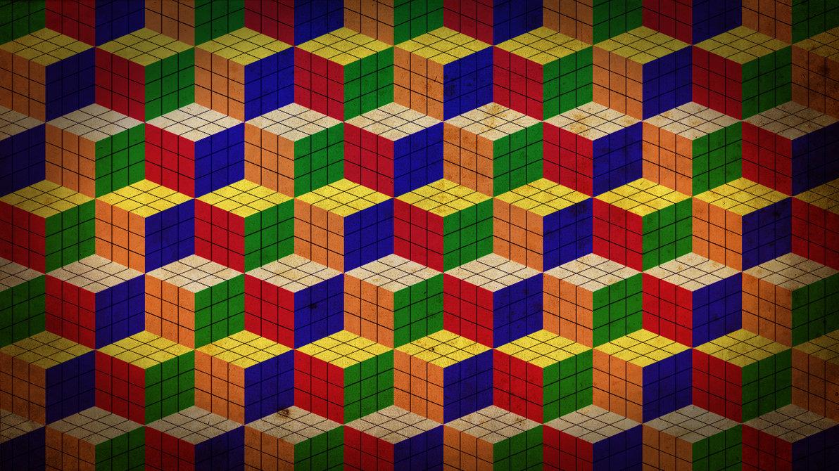Rubiks Cube Wallpaper by villhelm e 1192x670