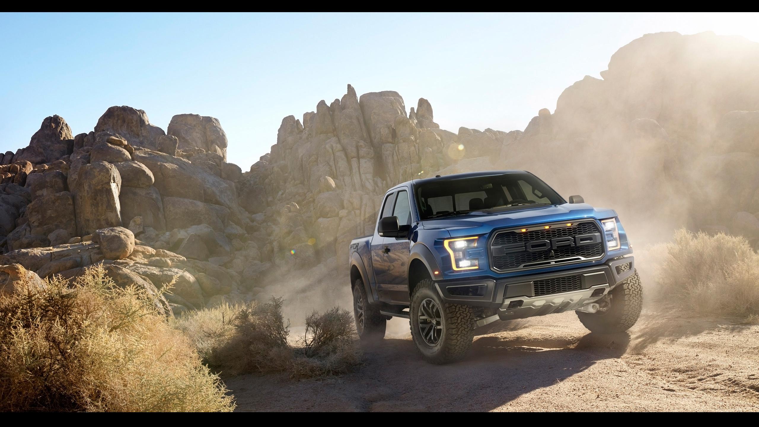 2017 Ford F 150 Raptor Wallpaper HD Car Wallpapers 2560x1440
