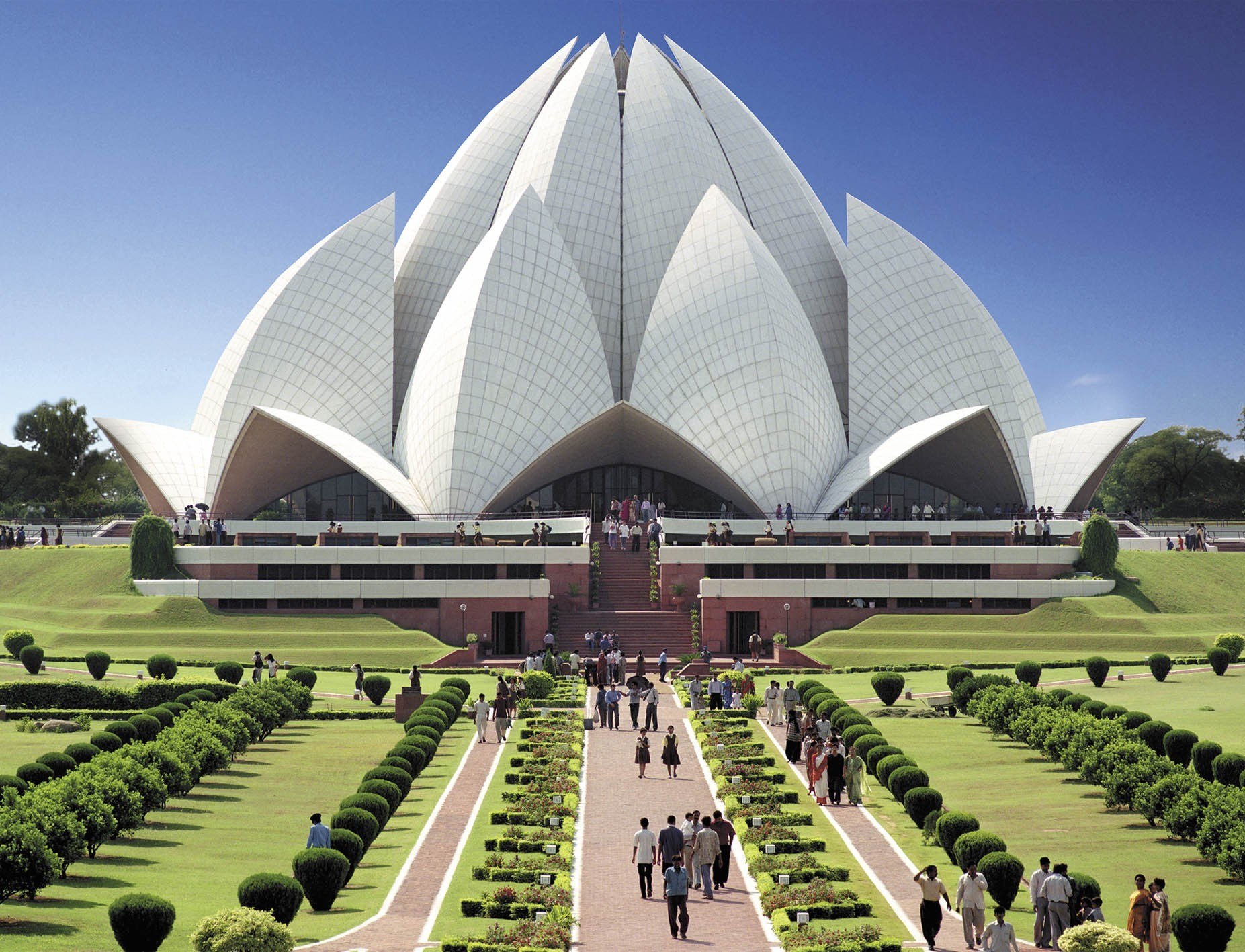 LOTUS TEMPLE   DELHI Photos Images and Wallpapers HD Images 1853x1417